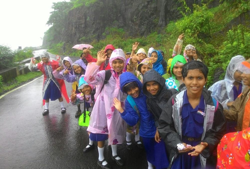 Scout Guide Rainy Picnic & Tree Plantation