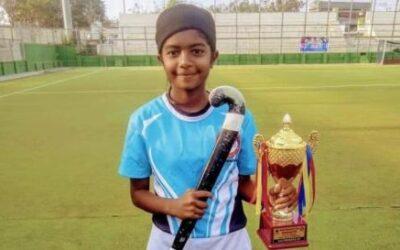 Nikita Deshmukh selected for  Sub-junior National Hockey girls championship at Haryana