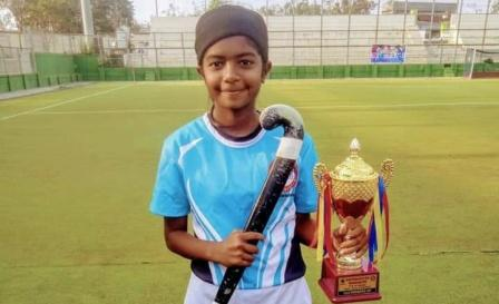 Nikita Deshmukh selected for  Sub-junior National Hockey girls championship at Haryana