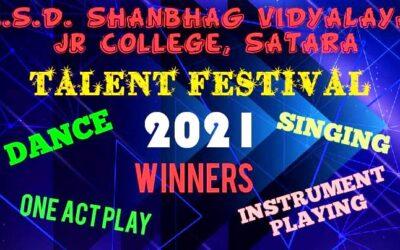 Online Talent Festival 2021 Winners