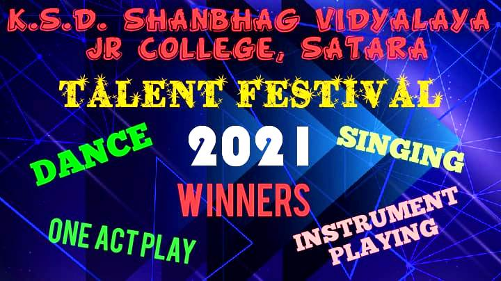 Online Talent Festival 2021 Winners